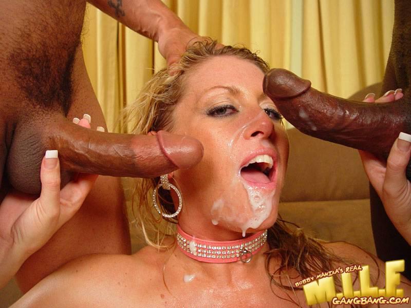 Blonde Milf Black Schlongs :: Ebony Gangbang Porn