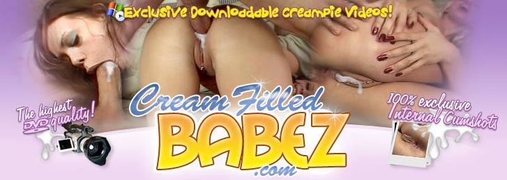 cream pie internal cum shot vaginal