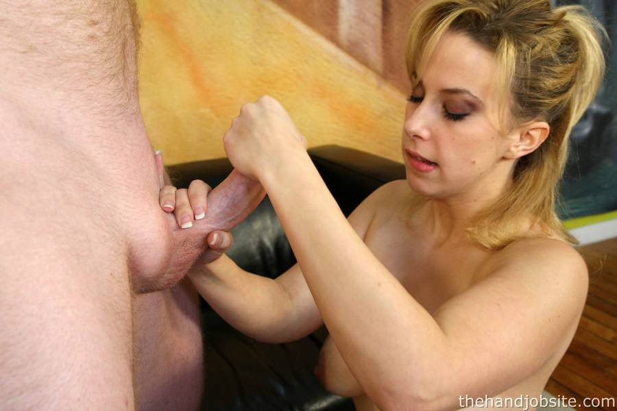 Dry blowjob and handjob